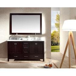 """ATLAS ARIEL Cambridge 61"""" Double Sink Vanity Set Model 151724561 Bathroom Vanities"""