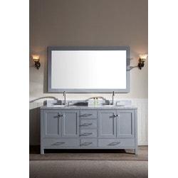 """ATLAS ARIEL Cambridge 73"""" Double Sink Vanity Set Model 151724601 Bathroom Vanities"""