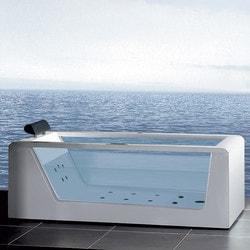 "ATLAS ARIEL Platinum AM152 59"" Whirlpool Bathtub Model 151725651 Bathtubs"