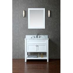 """ATLAS Seacliff by ARIEL Mayfield 36"""" Single Sink Vanity Set Model 151725441 Bathroom Vanities"""