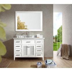 """ATLAS ARIEL Kensington 49"""" Single Sink Vanity Set Model 151724721 Bathroom Vanities"""