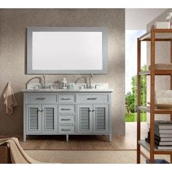 "ATLAS ARIEL Kensington 61"" Double Sink Vanity Set Model 151724771 Bathroom Vanities"