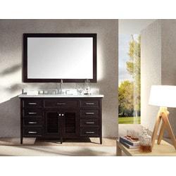 """ATLAS ARIEL Kensington 61"""" Single Sink Vanity Set Model 151724731 Bathroom Vanities"""