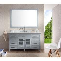 """ATLAS ARIEL Kensington 61"""" Single Sink Vanity Set Model 151724741 Bathroom Vanities"""