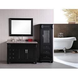 "Design Element Hudson 48"" Single Sink Vanity Set Model 151722981 Bathroom Vanities"
