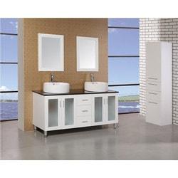 "Design Element Malibu 60"" Single Sink Vanity Set Model 151723071 Bathroom Vanities"