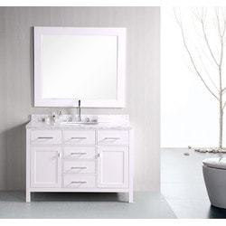 "Design Element London 48"" Single Sink Vanity Set Model 151723261 Bathroom Vanities"