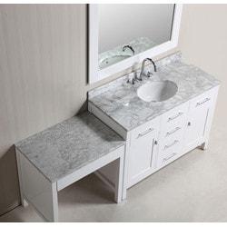 "Design Element London 48"" Single Sink Vanity Set Model 151723271 Bathroom Vanities"