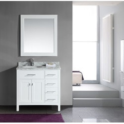 "Design Element London 36"" Single Sink Vanity Set Model 151724221 Bathroom Vanities"