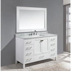 "Design Element London 54"" Single Sink Vanity Set Model 151723641 Bathroom Vanities"