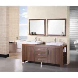 """Design Element Washington 72"""" Double Sink Vanity Set Model 151723691 Bathroom Vanities"""