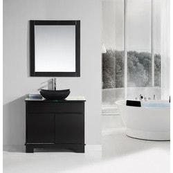"Design Element Oasis 36"" Single Sink Vanity Set Model 151723751 Bathroom Vanities"