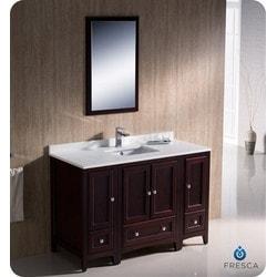 Fresca Quadro Pedestal Sink with Medicine Cabinet Modern Bathroom Vanity Type 151630541 Bathroom Vanities in Canada