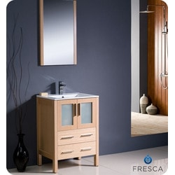 "Fresca Torino 24"" Modern Bathroom Vanity Type 151630001 Bathroom Vanities in Canada"
