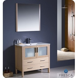 "Fresca Torino 36"" Modern Bathroom Vanity Type 151630161 Bathroom Vanities in Canada"