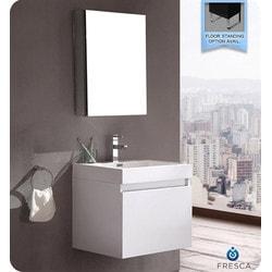 Fresca Nano Modern Bathroom Vanity with Medicine Cabinet Type 151631731 Bathroom Vanities in Canada