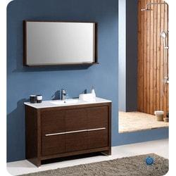 "Fresca Allier 48"" Modern Bathroom Vanity with Mirror Type 151632231 Bathroom Vanities in Canada"