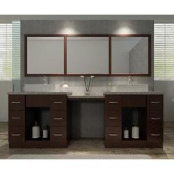"""ATLAS ARIEL Roosevelt 97"""" Double Sink Vanity Set Model 151725011 Bathroom Vanities"""
