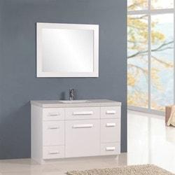 """Design Element Moscony 48"""" Single Sink Vanity Set Model 151723881 Bathroom Vanities"""