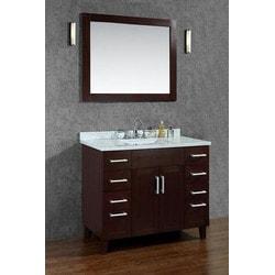 """ATLAS Seacliff by ARIEL Frampton 42"""" Single Sink Vanity Set Model 151725411 Bathroom Vanities"""