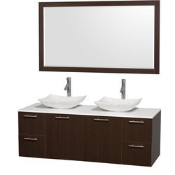 "Wyndham Amare 60"" Double Bathroom Vanity Set Type 151616581 Bathroom Vanities in Canada"