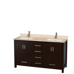 "Wyndham Sheffield 60"" Double Bathroom Vanity Set Type 151582271 Bathroom Vanities in Canada"