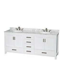 "Wyndham Sheffield 80"" Double Bathroom Vanity Set Type 151583231 Bathroom Vanities in Canada"
