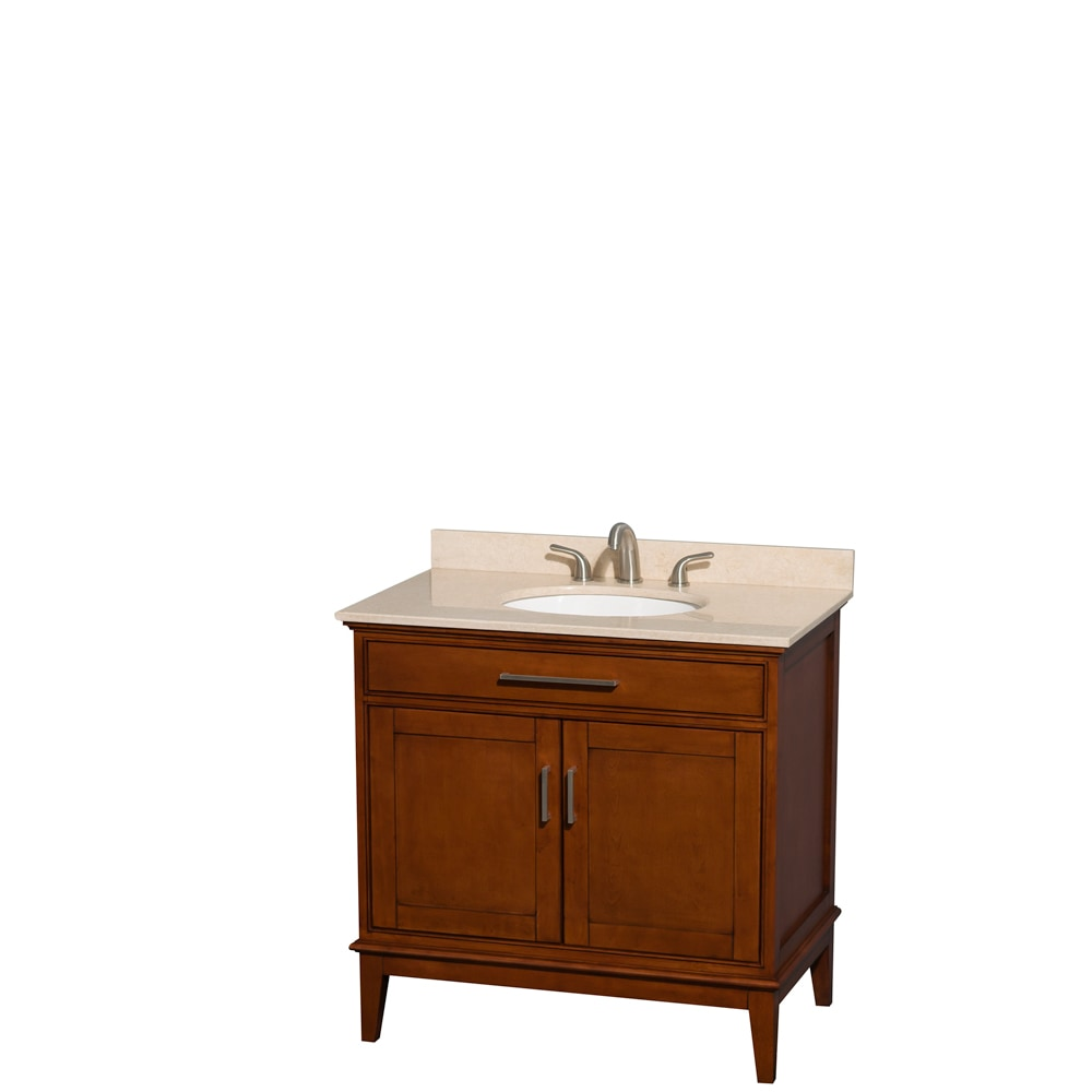 wyndham collection hatton 36 single bathroom vanity set mirror not included undermount oval. Black Bedroom Furniture Sets. Home Design Ideas