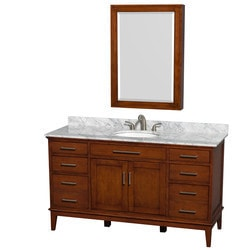 "Wyndham Hatton 60"" Single Bathroom Vanity Set Model 151578781 Bathroom Vanities"