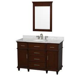 "Wyndham Berkeley 48"" Single Bathroom Vanity Set Type 151600071 Bathroom Vanities in Canada"