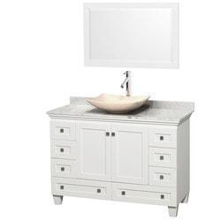 """Wyndham Acclaim 48"""" Single Bathroom Vanity Set Model 151587601 Bathroom Vanities"""