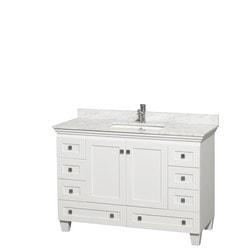"""Wyndham Acclaim 48"""" Single Bathroom Vanity Set Model 151587701 Bathroom Vanities"""