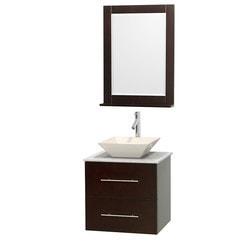 """Wyndham Centra 24"""" Vanity Single Bathroom Vanity Set Model 151584701 Bathroom Vanities"""