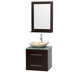"Wyndham Centra 24"" Vanity Single Bathroom Vanity Set Type 151585311 Bathroom Vanities in Canada"