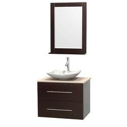 """Wyndham Centra 30"""" Vanity Single Bathroom Vanity Set Model 151589791 Bathroom Vanities"""