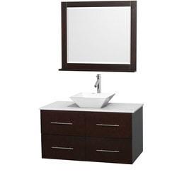 """Wyndham Centra 42"""" Vanity Single Bathroom Vanity Set Model 151597311 Bathroom Vanities"""