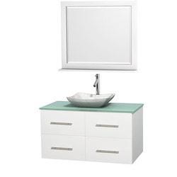"""Wyndham Centra 42"""" Vanity Single Bathroom Vanity Set Model 151599541 Bathroom Vanities"""