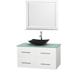 """Wyndham Centra 42"""" Vanity Single Bathroom Vanity Set Model 151599581 Bathroom Vanities"""