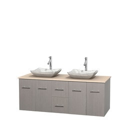"Wyndham Centra 60"" Vanity Double Bathroom Vanity Set Type 151605151 Bathroom Vanities in Canada"