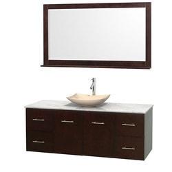 """Wyndham Centra 60"""" Vanity Single Bathroom Vanity Set Model 151606721 Bathroom Vanities"""