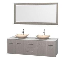 "Wyndham Centra 72"" Double Bathroom Vanity Set Model 151569851 Bathroom Vanities"
