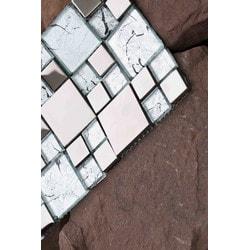 Mirrella Rousha Series Model 151809971 Kitchen Glass Mosaics