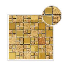 Mirrella Rousha Series Model 151809981 Kitchen Glass Mosaics