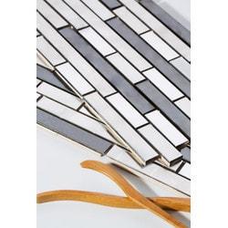 Mirrella Ariya Series Model 151813281 Kitchen Metal Mosaics