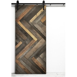 Dogberry s Herringbone Barn Door Model 151466111 Interior Doors