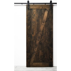 Dogberry s Traditional Z Barn Door Model 151466131 Interior Doors