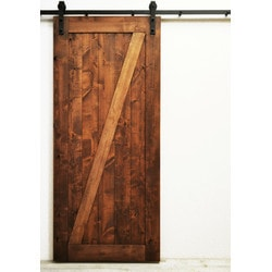 Dogberry s Traditional Z Double Barn Door Model 151466161 Interior Doors