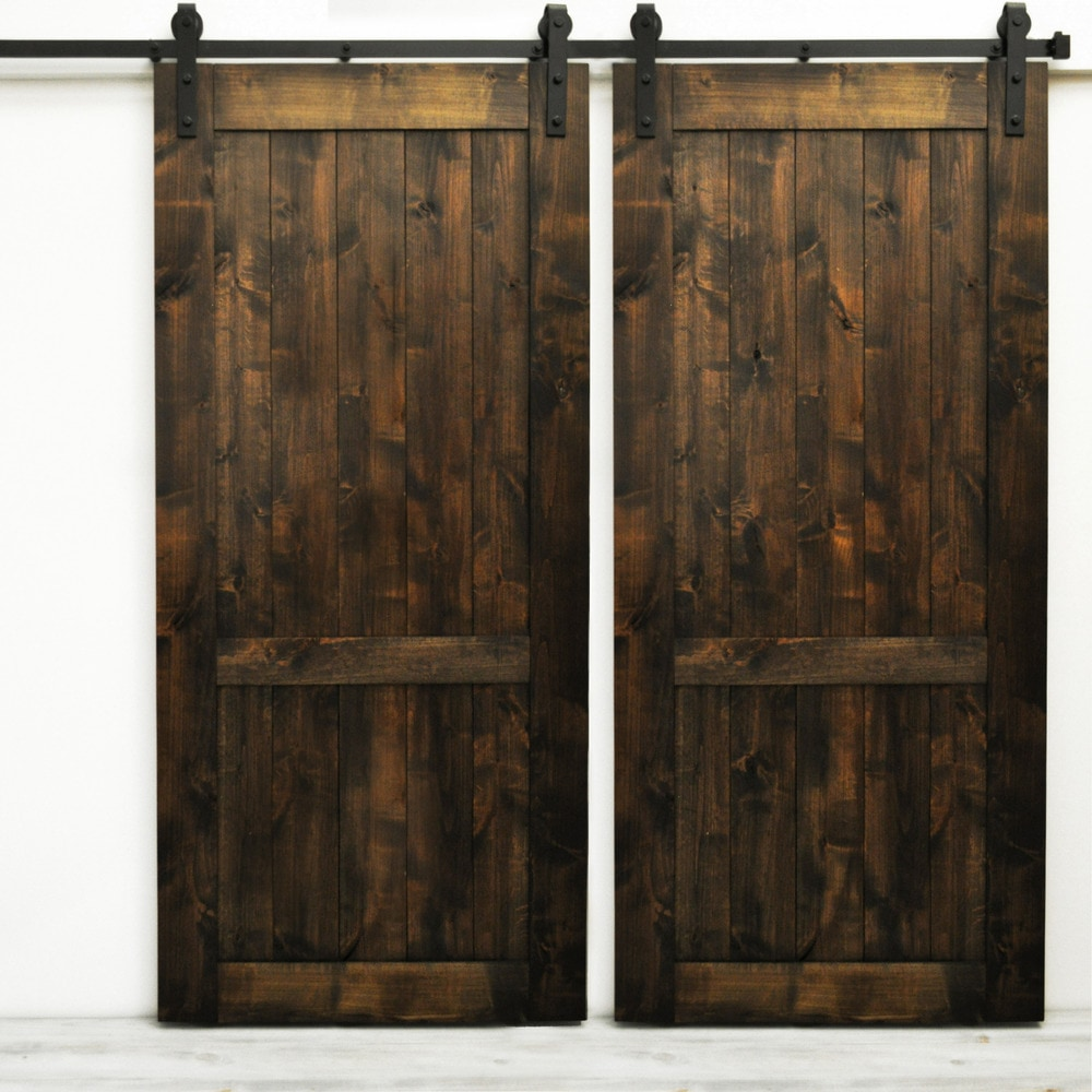 Dogberry Collections Country Vintage Double Barn Door