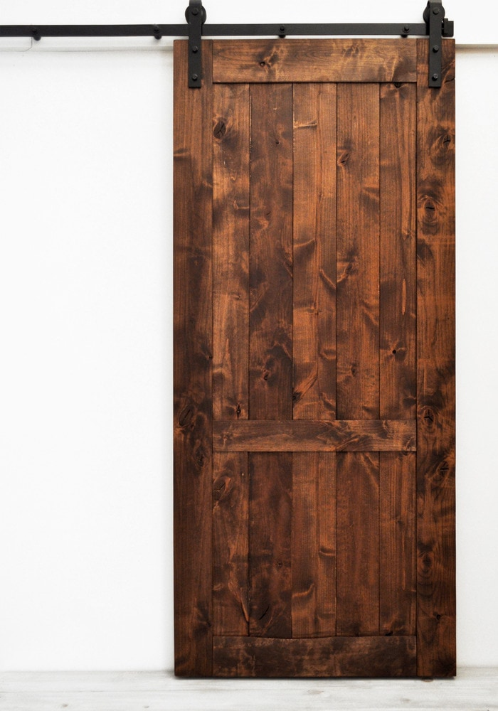 Dogberry collections country vintage double barn door for 40 inch interior barn door
