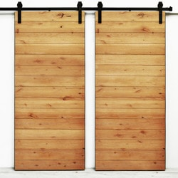 Dogberry s Latitude Double Barn Door Model 151466021 Interior Doors
